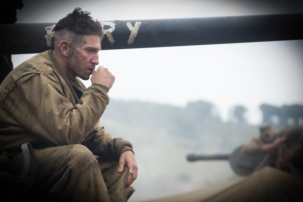 Bernthal in David Ayer's Fury (2014). Courtesy of Columbia Pictures.