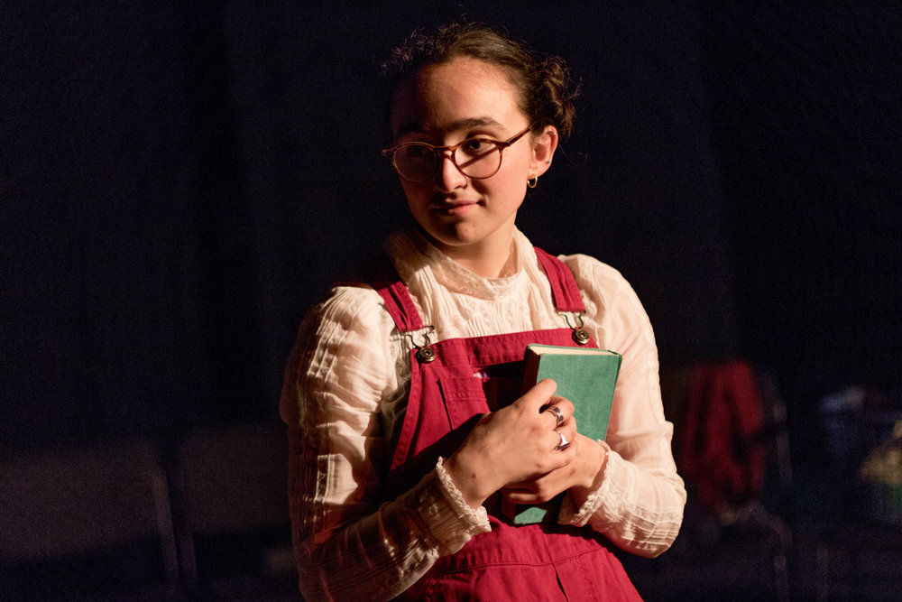Samantha Fleishman '20 in The Secret in the Wings. Photo: Dante Haughton '19