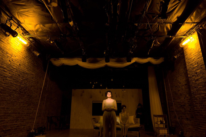 Emily Climbs, written and directed by Julia May Jonas at The Brick Theater in Brooklyn, NY. Photo courtesy of Julia May Jonas.