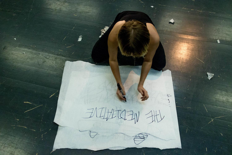 Finley Martin '19 in The Dali Project. Photo: Dante Haughton '19