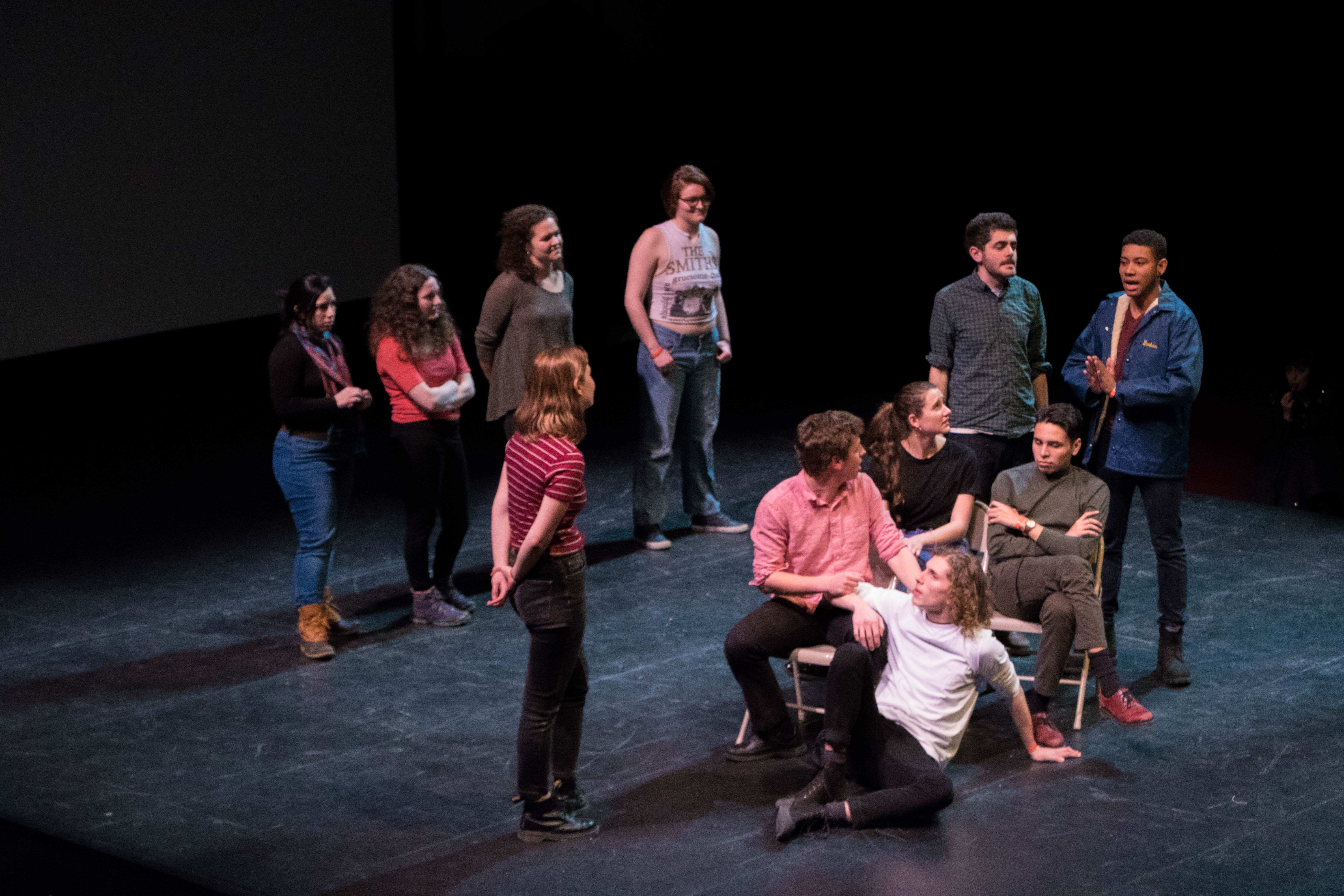 "Sarah Lawrence College's ""Feral Christine"" Perform"